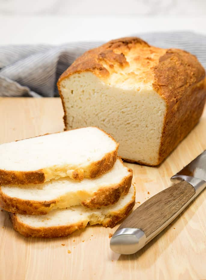 Light, tender and soft, with a soft crust that you can sink your teeth into, this gluten free English muffin bread is something truly special. And there's no long refrigerator rise, so it's ready in just a couplehours, and most of that time isn't active.