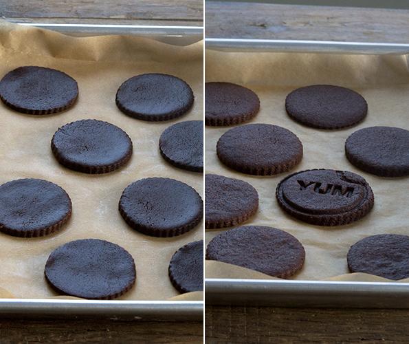 Soft Gluten Free Chocolate Cutout Sugar Cookies