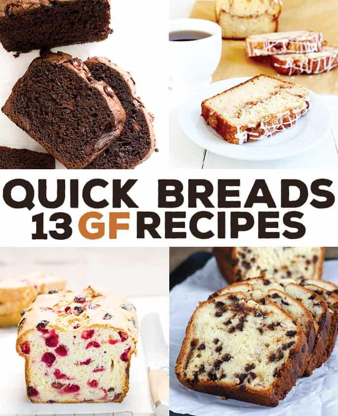 13 Gluten Free Quick Bread Recipes