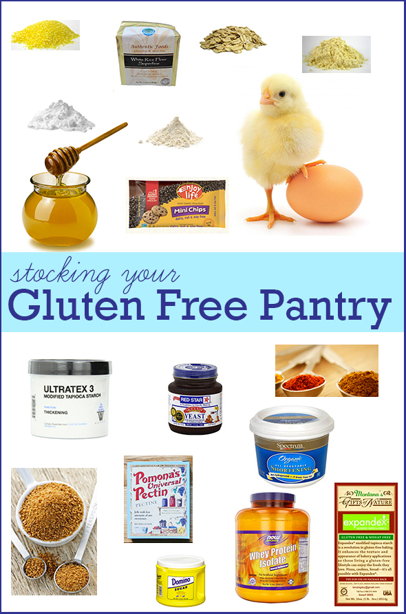 How To Stock Your Gluten Free Pantry for Baking
