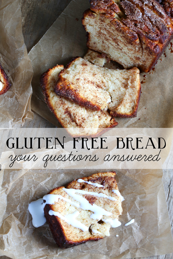 Gluten Free Bread: Your Questions Answered