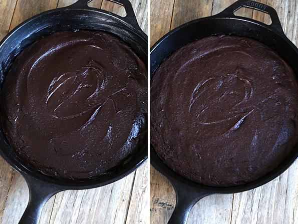 Gluten Free Skillet Brownies