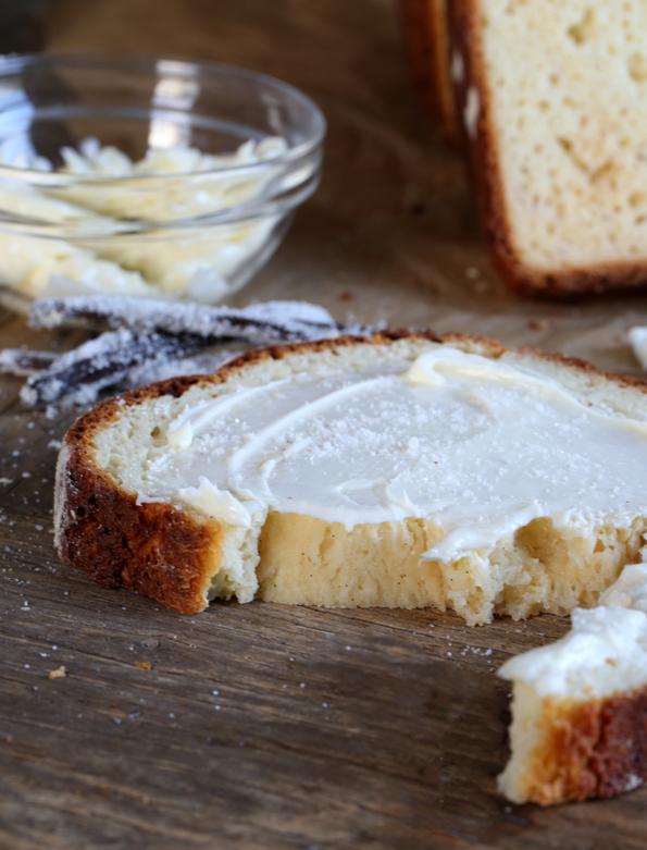 Gluten Free Bread: Soft Vanilla Swirl