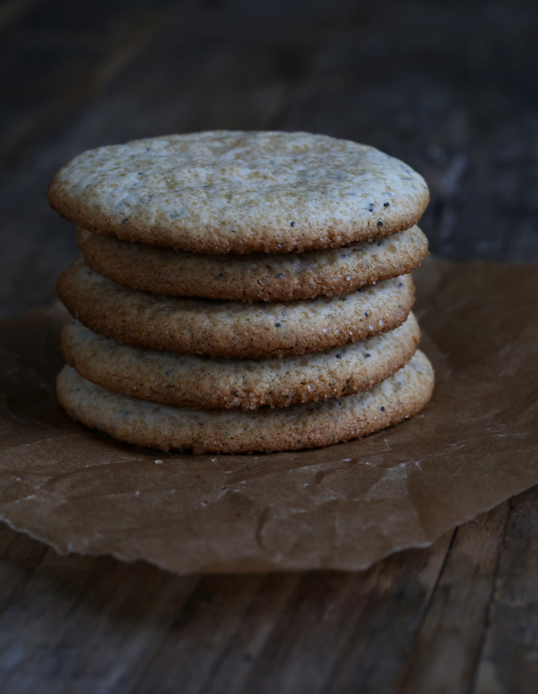 Lighter Gluten Free Lemon Poppyseed Cookies