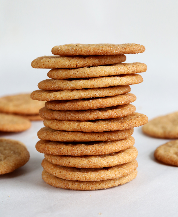 Gluten Free Snickerdoodle Cookie Chips