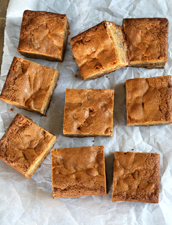 Gluten Free Maple Butter Blondies