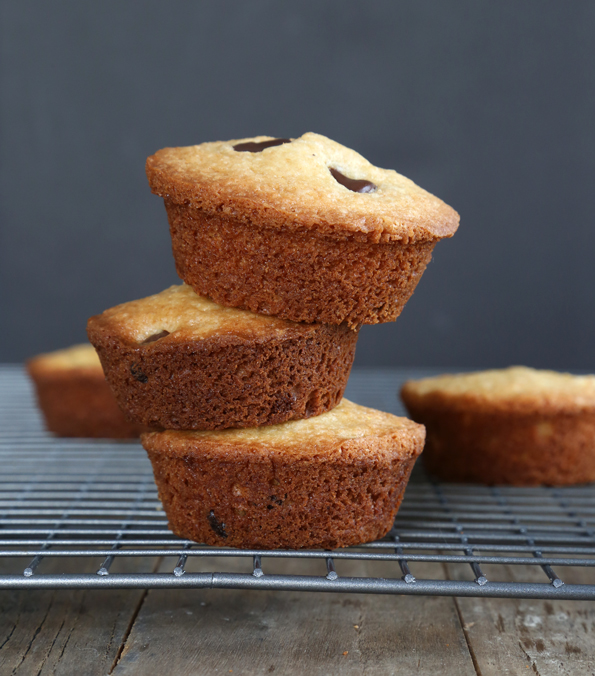 Two-Bite Gluten Free Blonde Brownies