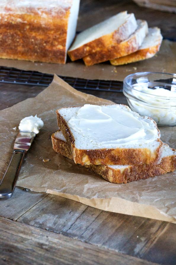 Gluten Free English Muffin Bread recipe from GFOAS Bakes Bread