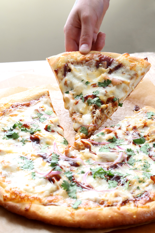 California Pizza Kitchen-Style Gluten Free BBQ Chicken Pizza