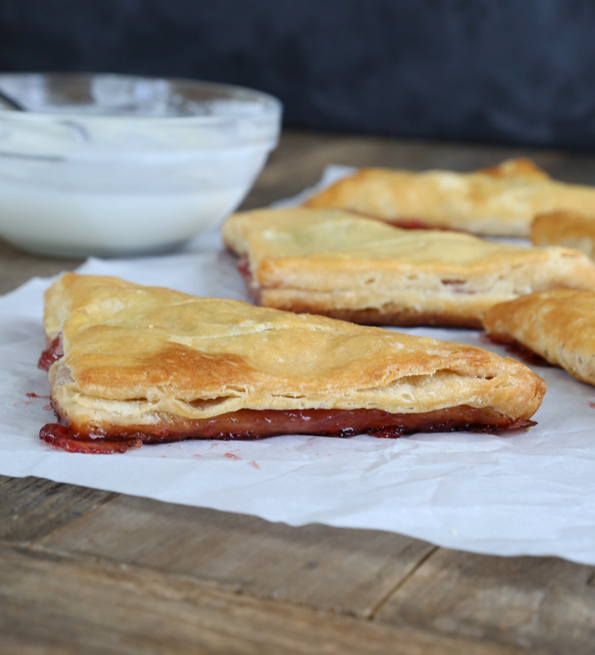 Easy Gluten Free Cherry Turnovers