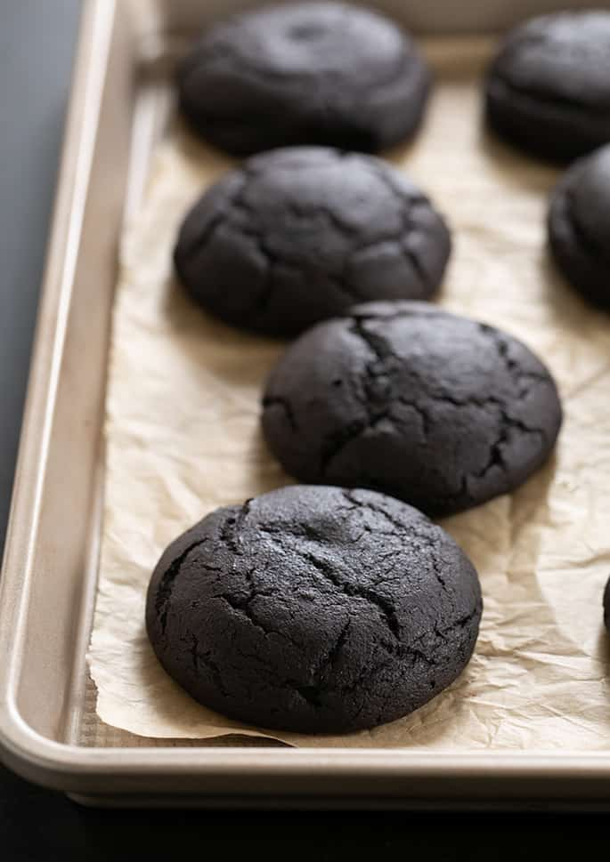 Oreo Cakesters cookies on brown surface