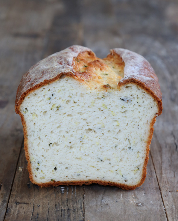 Gluten Free Zucchini Yeast Bread