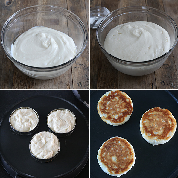 Super Fluffy Gluten Free English Muffins—Step by Step