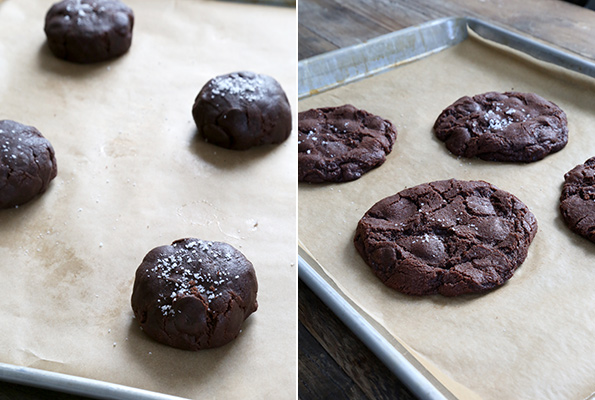 New York Times-Style Gluten Free Double Chocolate Chip Cookies