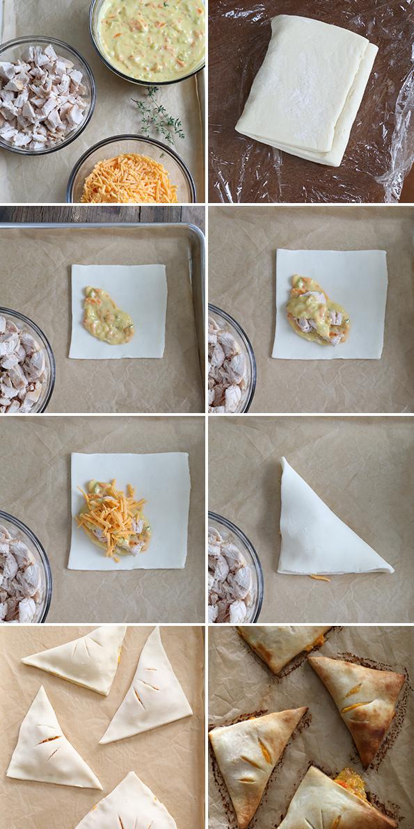 Gluten Free Biscuit Chicken Pot Pies To Go—step  by step