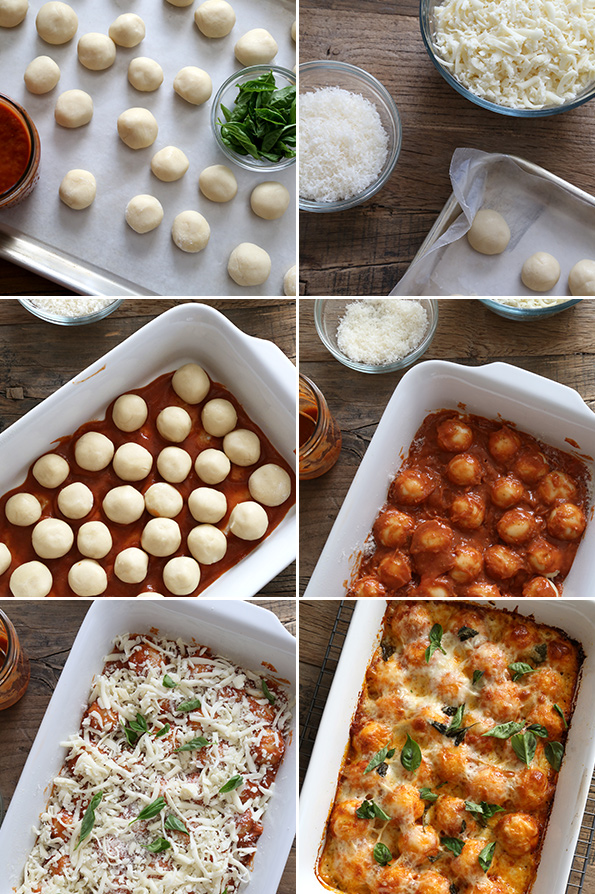Gluten Free Bubble Up Pizza—Step by Step