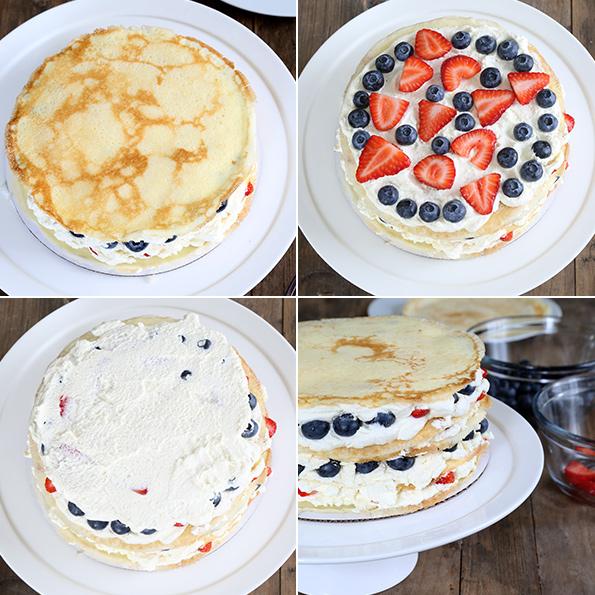 Easy No Bake Gluten Free Crepe Cake