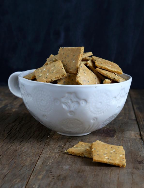 Crunchy Paleo Crackers