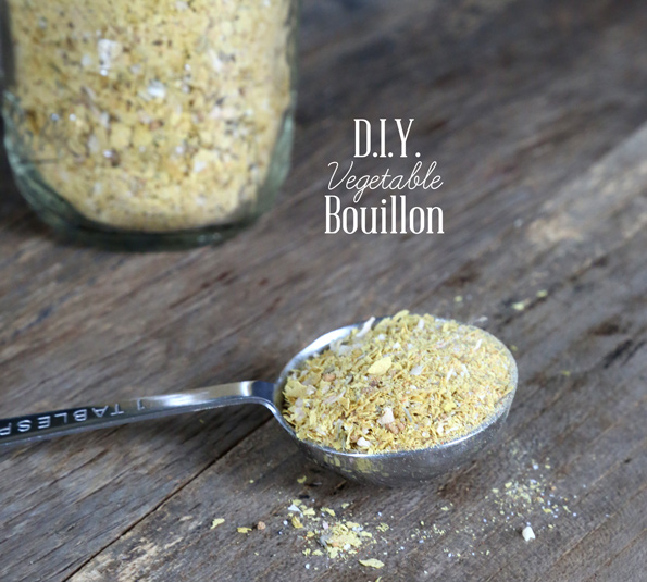 D.I.Y. Gluten Free Vegetable Bouillon