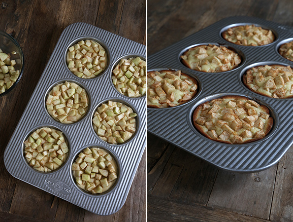 Starbucks-Style Gluten Free Apple Pound Cakes