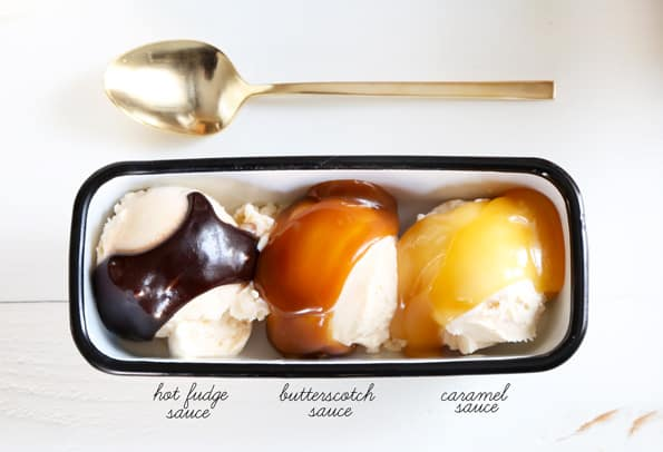 Homemade Ice Cream Toppings and Sauces: Hot Fudge, Butterscotch & Caramel Sauces