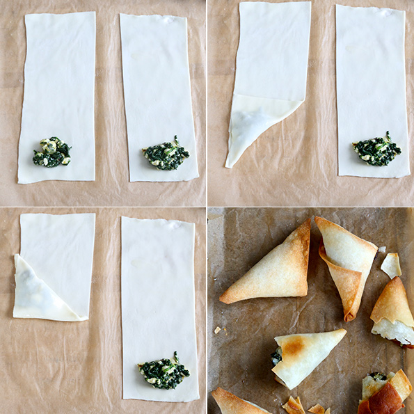 Gluten Free Phyllo Dough and Spanakopita Step by Step