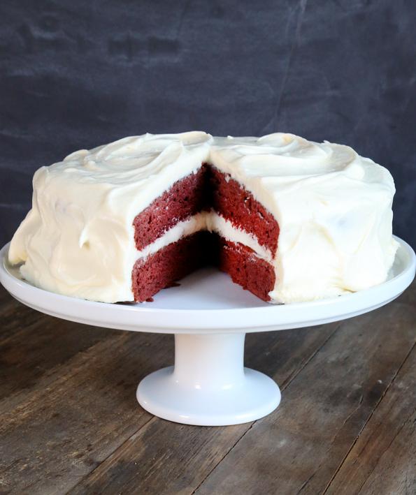 Classic Gluten Free Red Velvet Cake