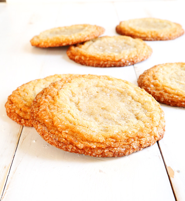 New York Times-Style Gluten Free Sugar Cookies