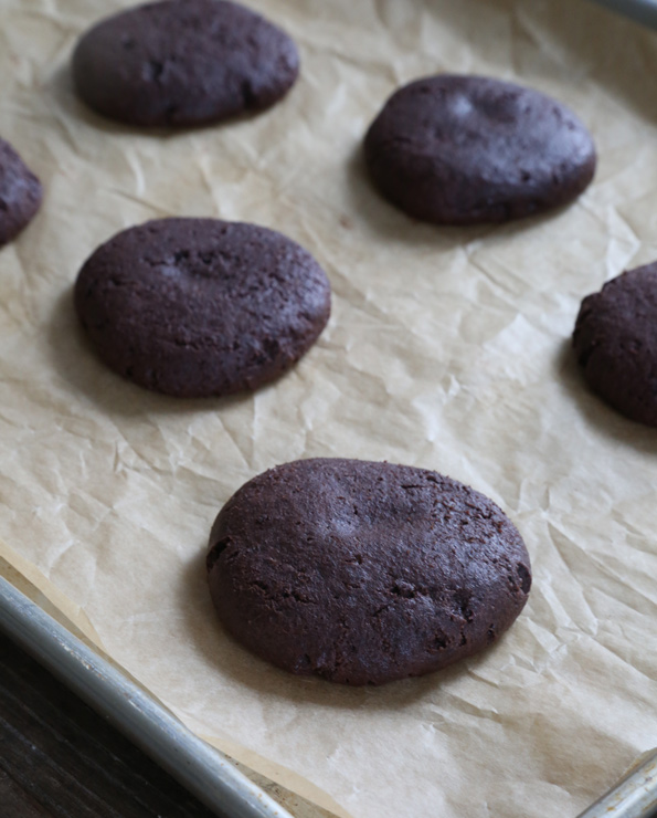 Gluten Free Chocolate Cheesecake Cookies—made from a cake mix!