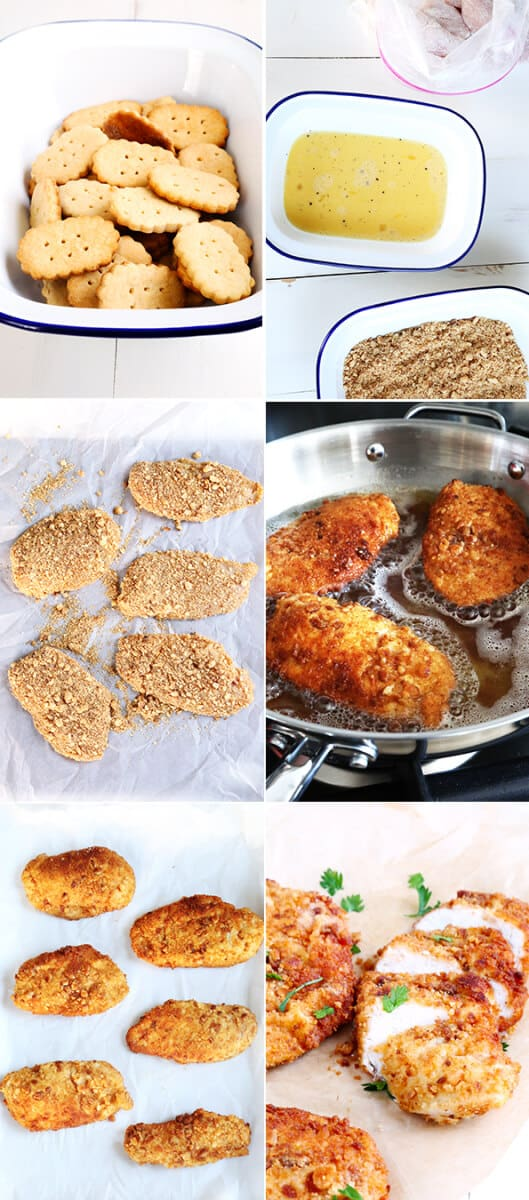 How to make Gluten Free Chicken Fried Chicken—Step by Step