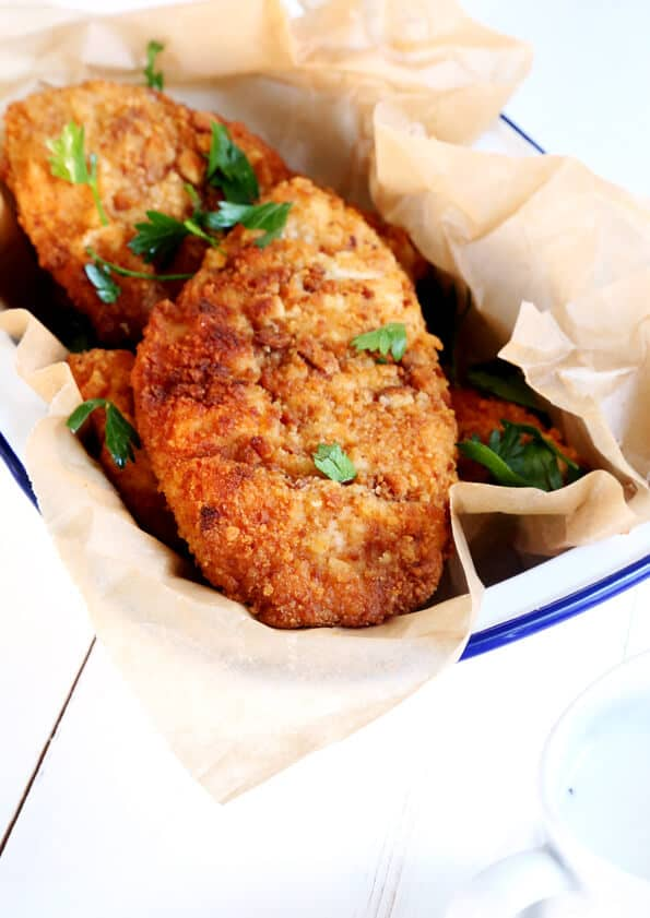 Gluten Free Chicken Fried Chicken