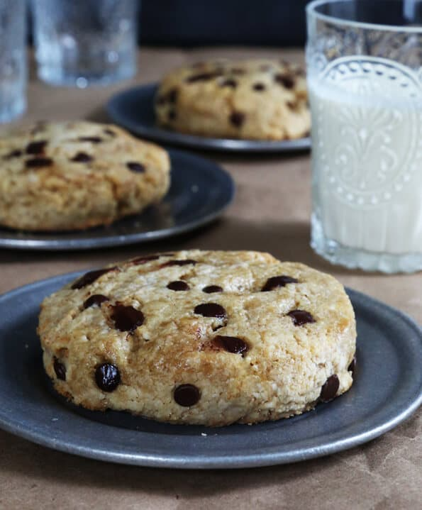 Chocolate Chip Paleo Scones