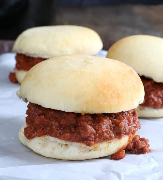 The best homemade slow cooker Sloppy Joes recipe, made easily from scratch without any ketchup. You won't believe how quick this naturally gluten free recipe is!