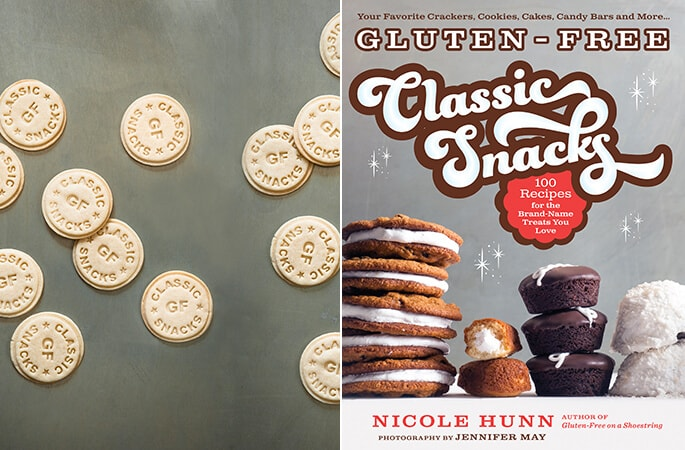 Gluten Free Classic Snacks cover and endpapers
