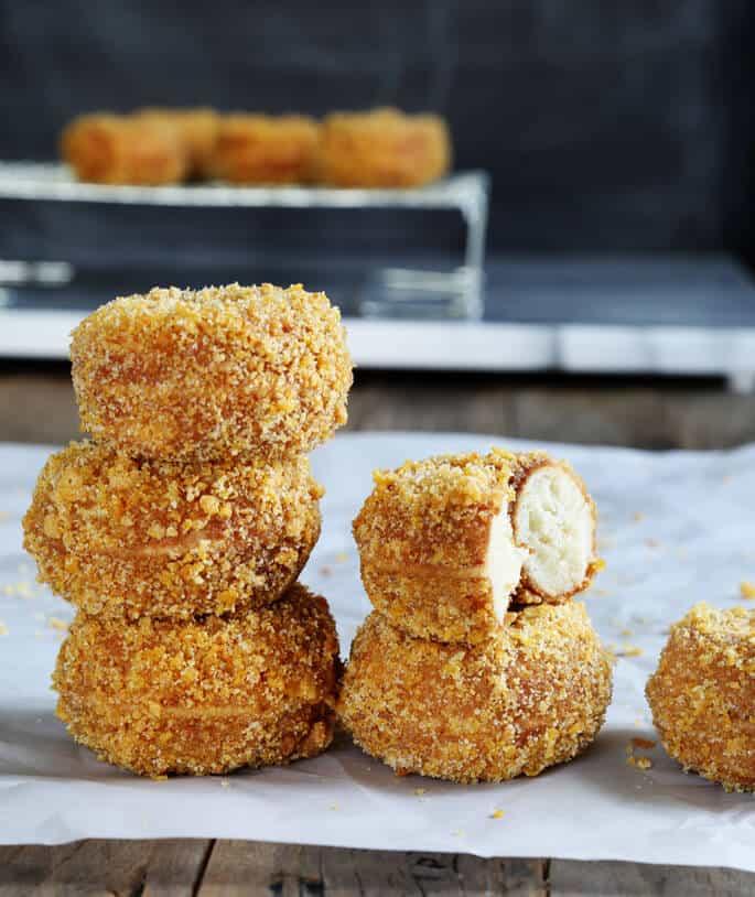 Gluten Free Hostess-Style Crunch Donettes
