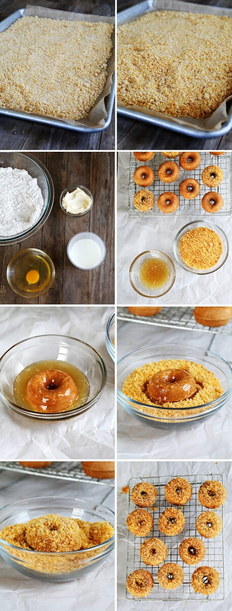 Gluten Free Hostess Crunch Donettes, Step by Step
