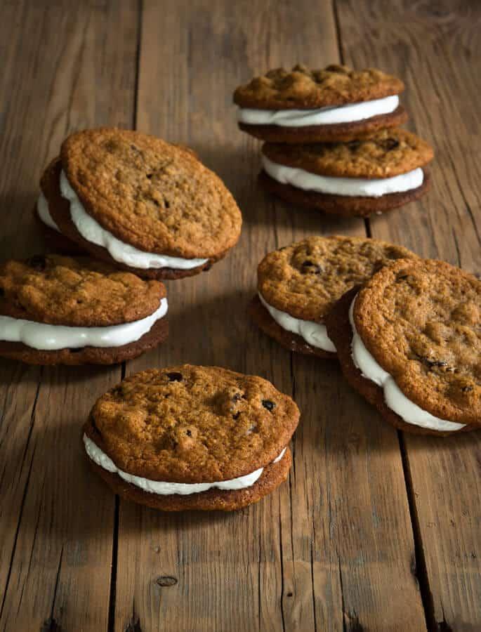 Gluten Free Classic Snacks: Little Debbie-Style Oatmeal Creme Pies