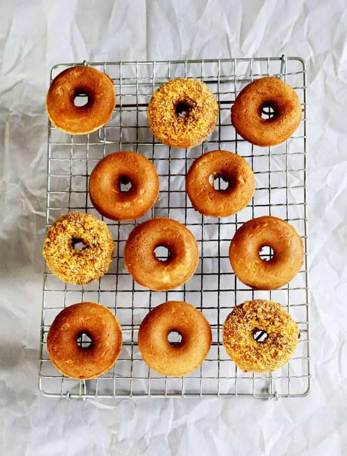 Gluten Free Hostess Crunch Donettes
