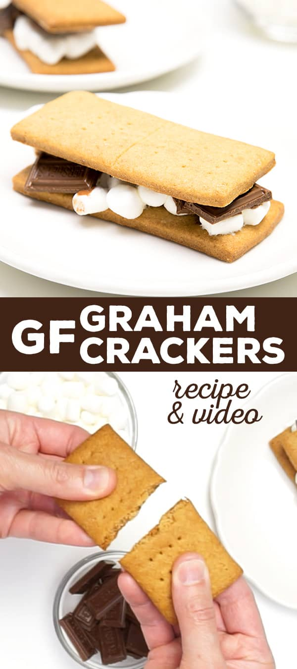 "The perfect recipe for gluten free graham crackers. All the taste and texture of a ""real"" graham cracker—just like Nabisco, but safely gluten free. And absolutely perfect for making into graham cracker crumbs!"