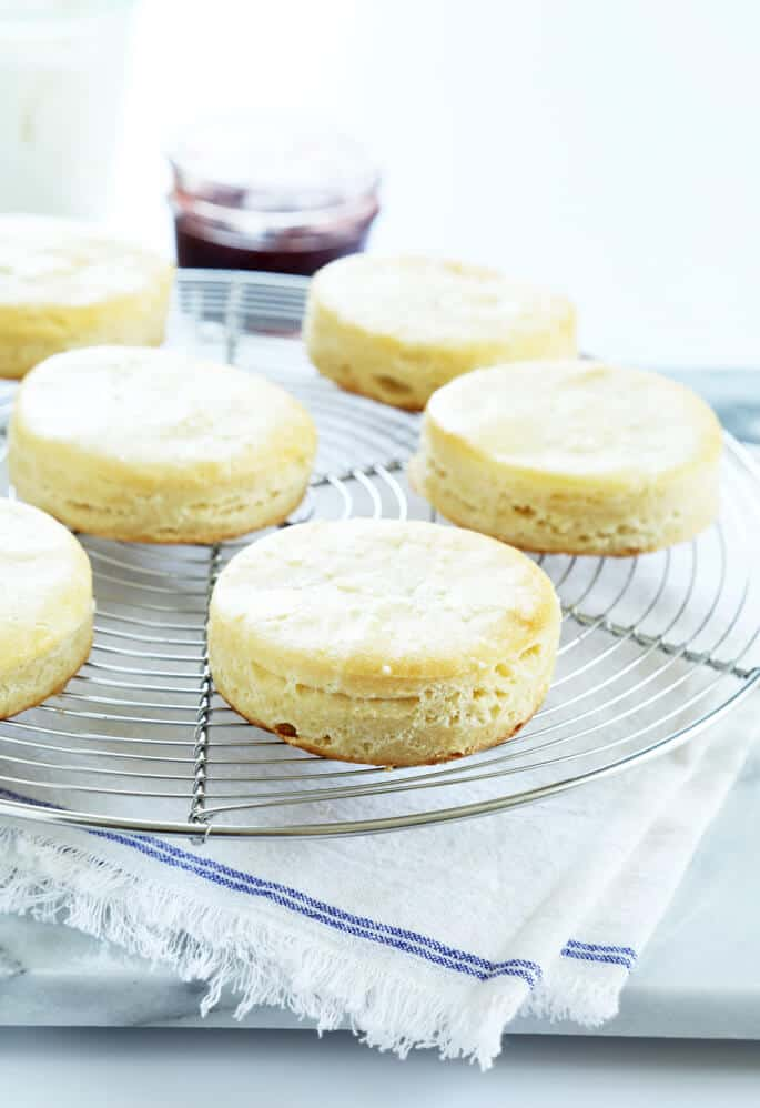 Tender and Flaky Gluten Free Ricotta Biscuits