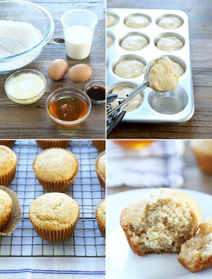 Grandma's Gluten Free Honey Muffins, Step by Step