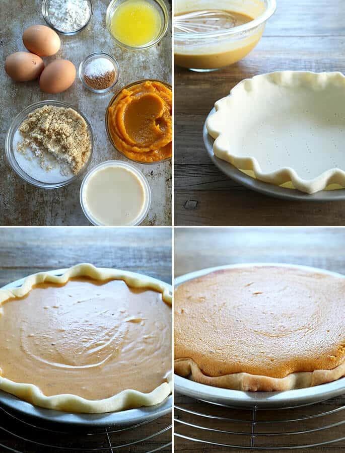 Classic Gluten Free Pumpkin Pie or Sweet Potato Pie (2 recipes in 1!), Step by Step