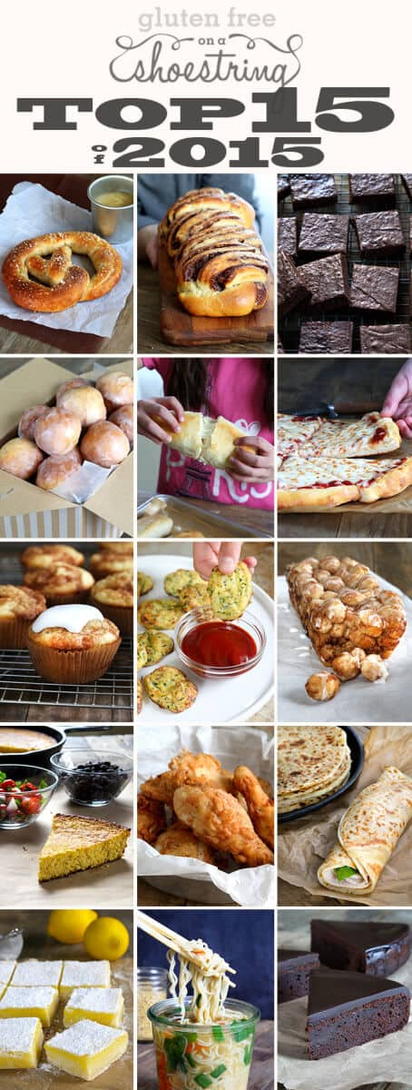 Gluten Free on a Shoestring Best of 2015