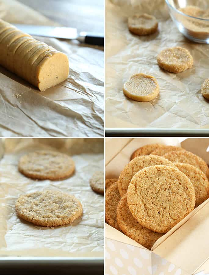 Soft and Chewy Gluten Free Ginger Cookies, Step by Step
