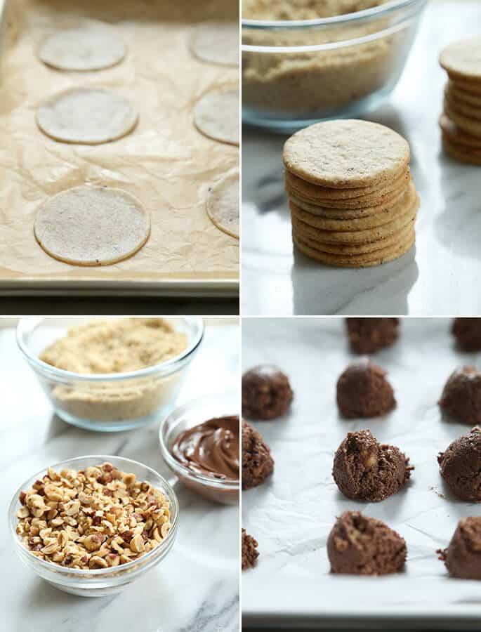 """Gluten Free """"Ferrero Rocher"""" Hazelnut Chocolates, Step by Step"""