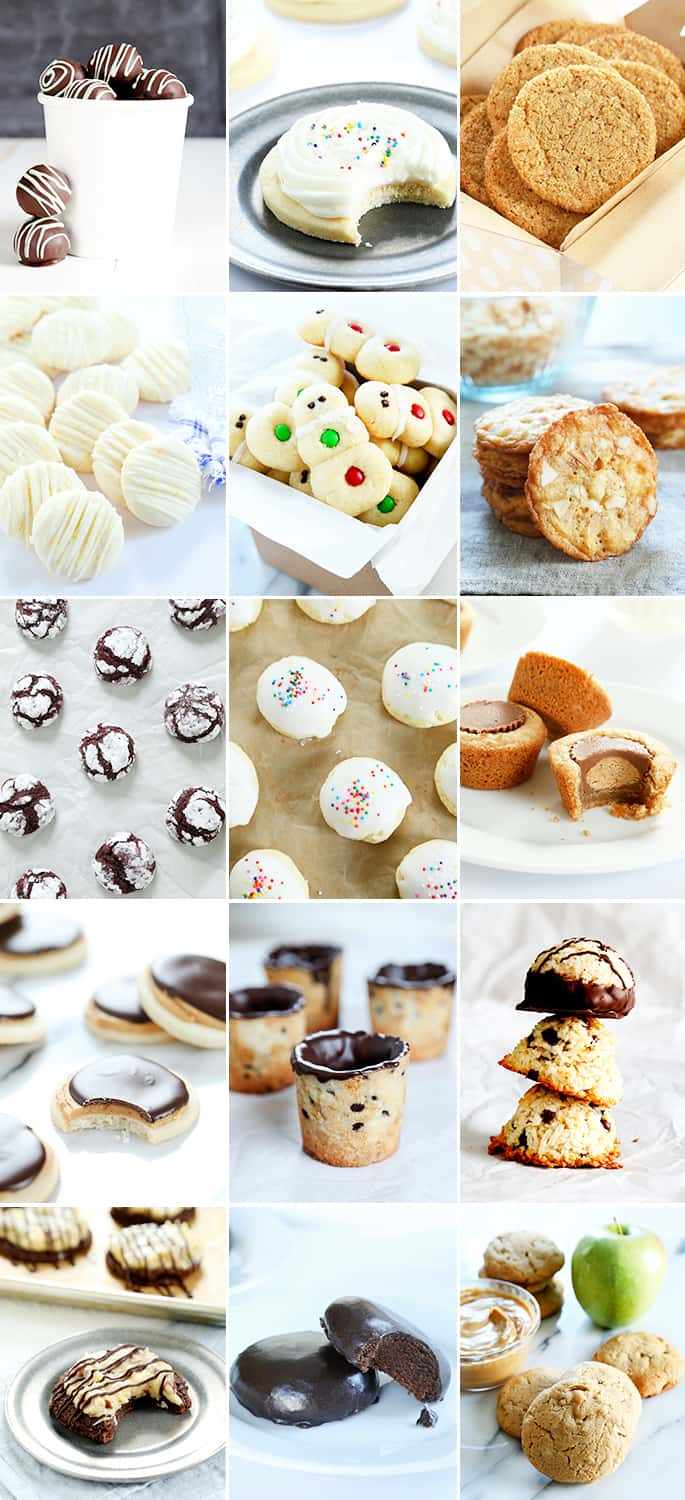 The very best gluten free Christmas cookies of 2015 on the blog, Gluten Free on a Shoestring.