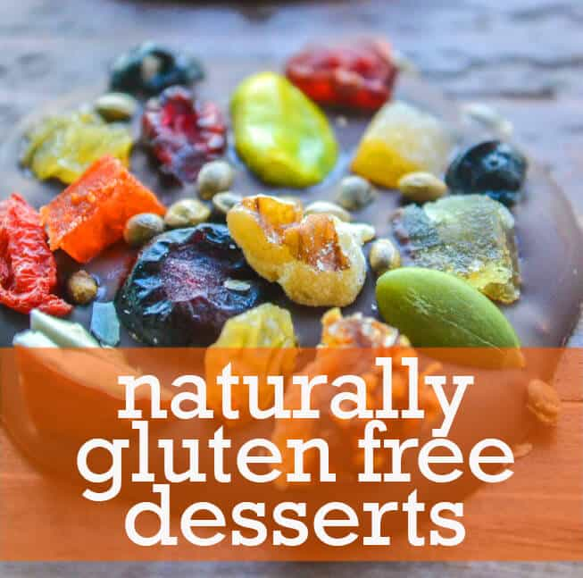 Naturally Gluten Free Desserts. The best recipes from around the web!