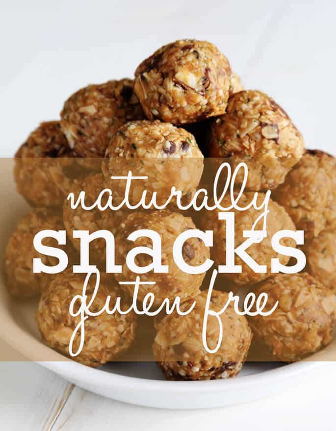 The Ultimate Guide To Naturally Gluten Free Snacks. The very best recipes from around the web!