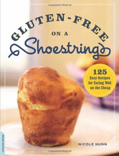 Gluten-Free on a Shoestring cookbook by Nicole Hunn