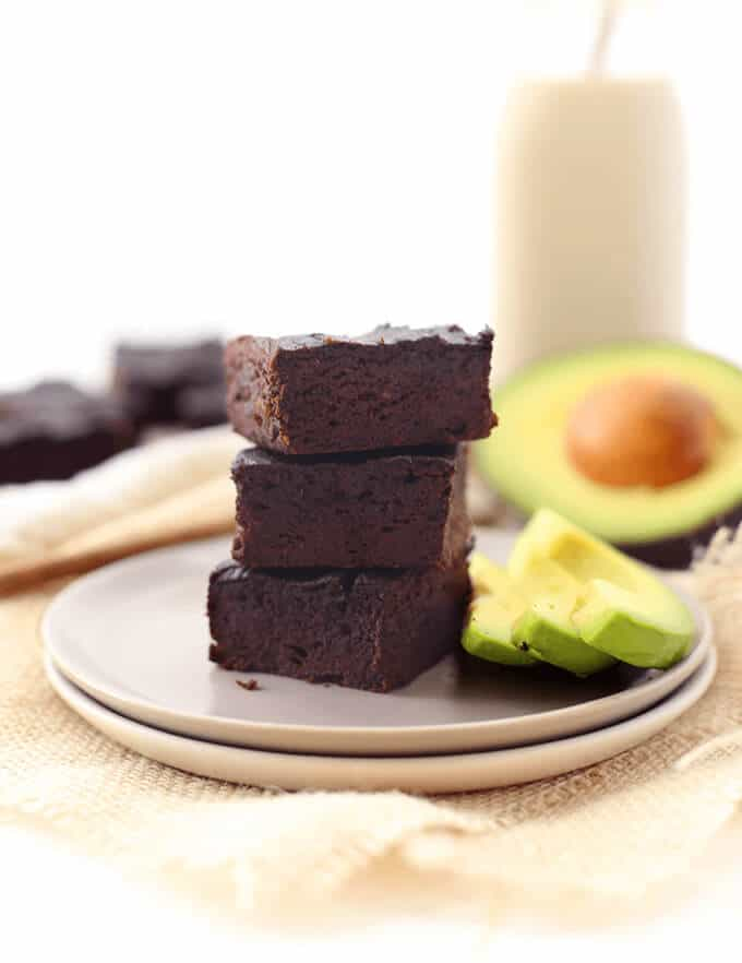 Healthy Avocado Brownies from The Healthy Maven